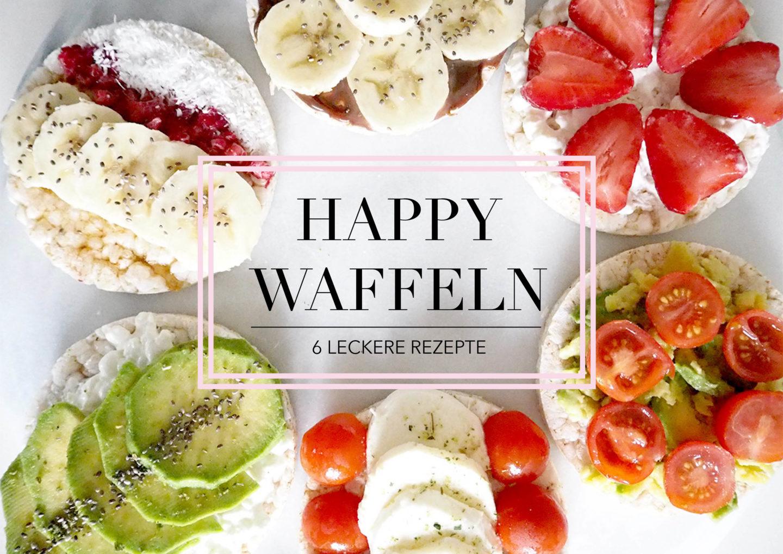 Komplett Happy Waffeln - der perfekte Snack für Zwischendurch FW64